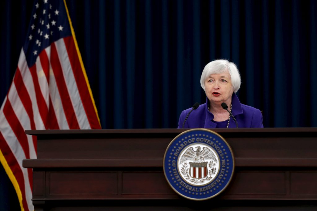 - fed rate hike chairperson janet yellen says it appropriate coming months 1024x683 - Most Asian stock markets slip after US Fed indicates rate increase 'fairly soon'