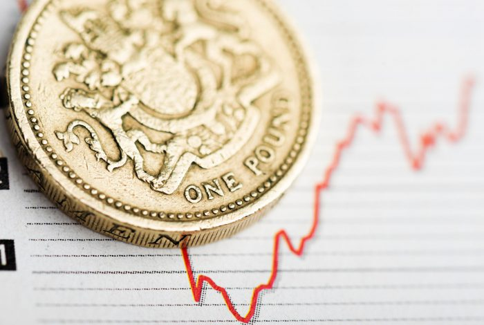 - pound falls 700x470 - Pound on track for weekly gains despite declining against dollar and euro