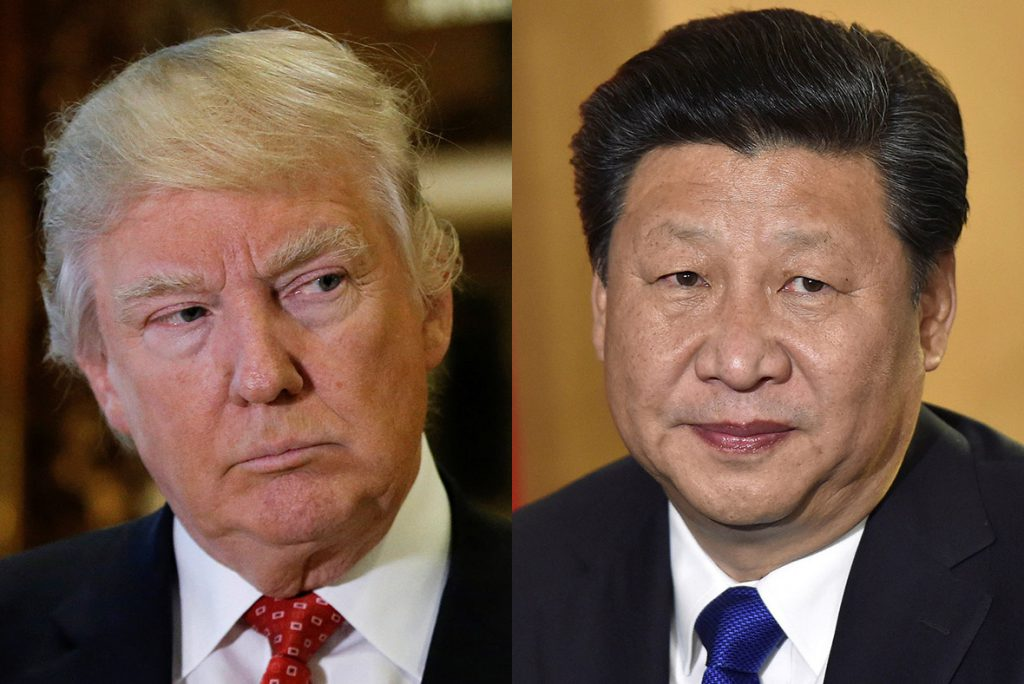 - donald trump xi jinping 1024x684 - Asian stock markets decline ahead of the Donald Trump-Xi Jinping meeting