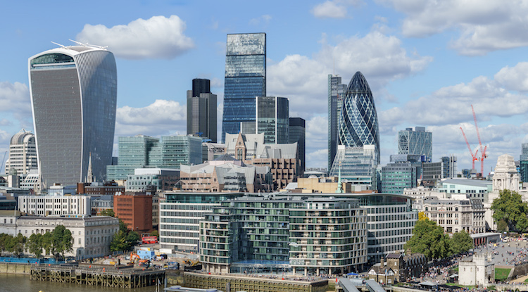 London midday: Stocks rise as investors cheer Prudential spin-off; US retail sales eyed  - city of london - London midday: Stocks rise as investors cheer Prudential spin-off; US retail sales eyed