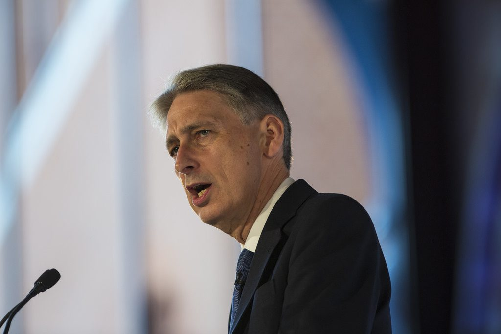 - hammond philip chancellor 1024x683 - UK February public sector surplus beats forecasts