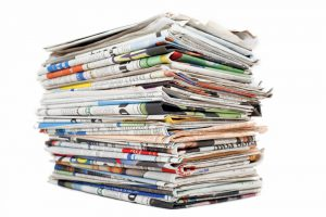 - newspapers media papers 300x200 - Pound on track for weekly gains despite declining against dollar and euro