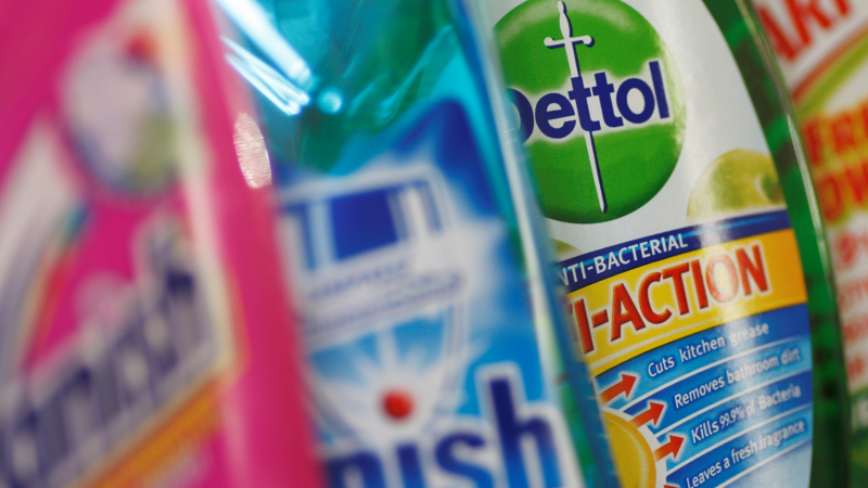 Credit Suisse downgrades Reckitt Benckiser