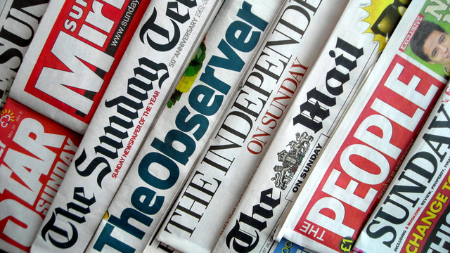 - sundaynewspapers - Sunday newspaper round-up: Customs union, PFI fallout, GKN, Dixons, banks