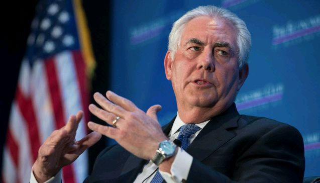 Trump fires Secretary of State Rex Tillerson, CIA chief Pompeo set to replace him