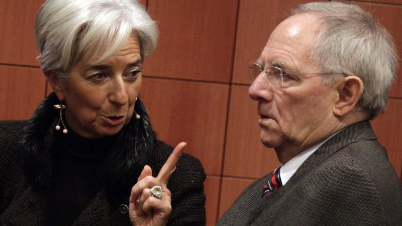 Week ahead: Brexit talks, Fedspeakers in focus (possibly)  - christine lagarde directrice du fmi et wolfgang schauble ministre allemand des finances 800x450 - Week ahead: Brexit talks, Fedspeakers in focus (possibly)
