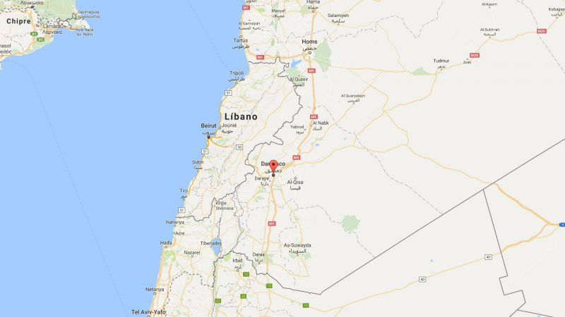 Cabinet supports Theresa May's call for action against Damascus  - damasco siria ubicacion google maps 800x450 - Cabinet supports Theresa May's call for action against Damascus