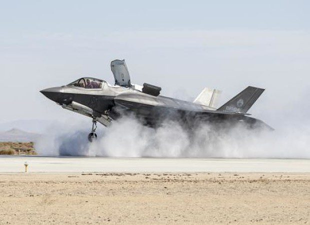 Sector movers: Trump comments on Russia hit Evraz, defence firms lifted  - f35 crosswind main opt 620x450 - Sector movers: Trump comments on Russia hit Evraz, defence firms lifted