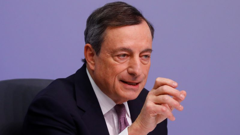 FX round-up: ECB's Draghi says door always open to change in guidance if needed