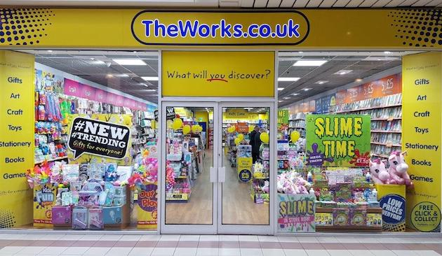 Squishie craze helps boost sales at The Works